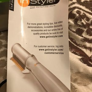 Brand new InStyler the rotating Iron